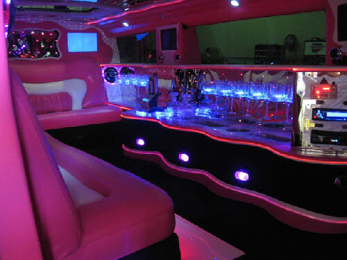 Limo Hire Pink Hummer Limousine Hire